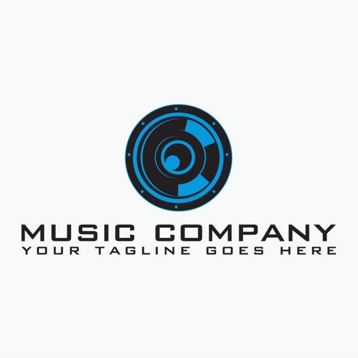 generic music company logo