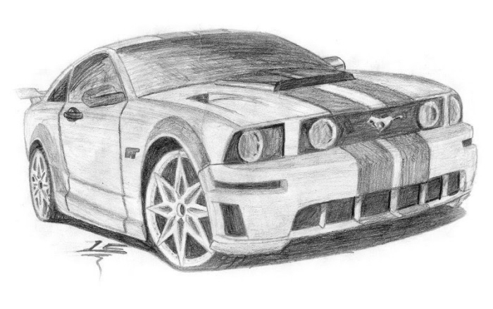 Top Speedi Car Drawings