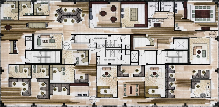 Commcercial by christina redman at for Floor plan magazines