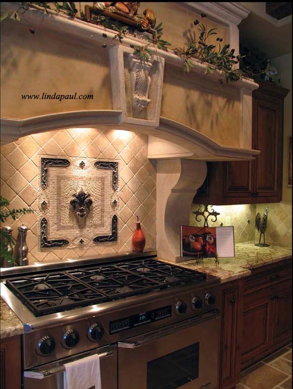 Kitchen Backsplash Tile Murals By Linda Paul Studio At Coroflotcom