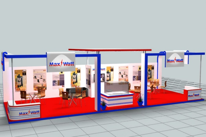 Exhibition Stall Designer Job : Max watt by dheeraj kumar bharti d exhibition stall