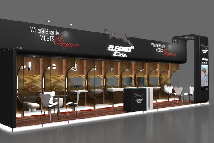 3d Exhibition Stall Design Job : Elegant casa by dheeraj kumar bharti d exhibition stall