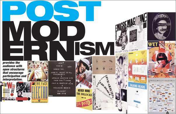 Postmodernism Poster by Kat Chaffin at Coroflot.com