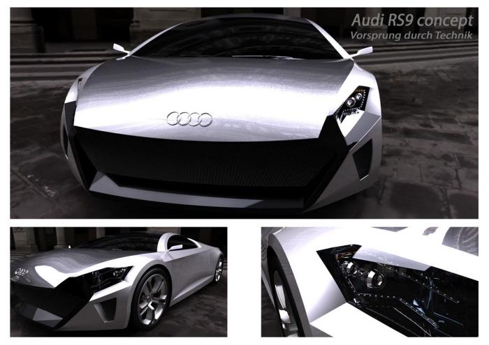 Audi Rs9 Concept By David Salomon Hernandez Bautista At