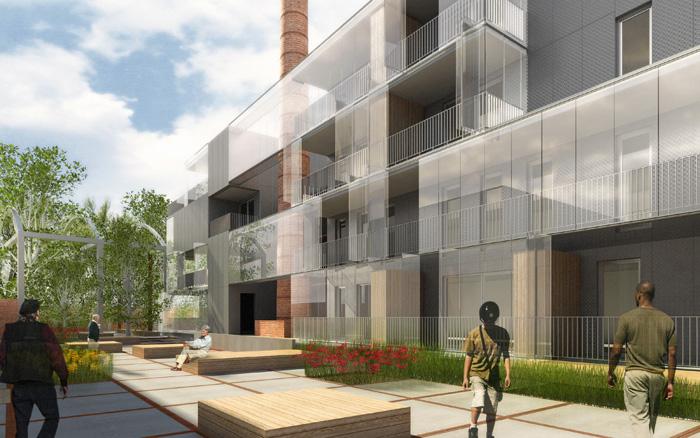 Vv mdw architects by vincent vaulot at - Architectuur renovatie ...