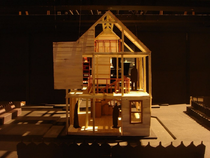 how to design a set for a play