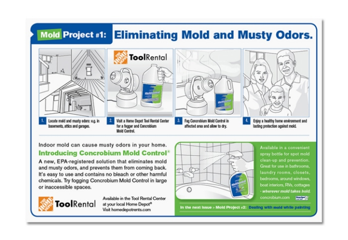 how to use mold control