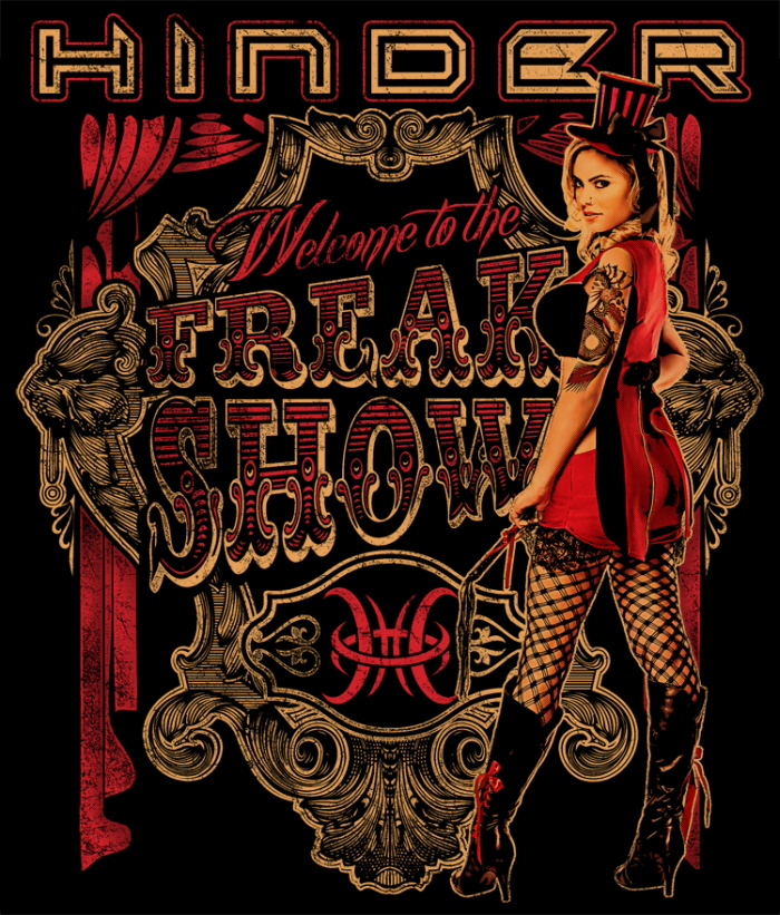 Hinder Welcome To The Freakshow
