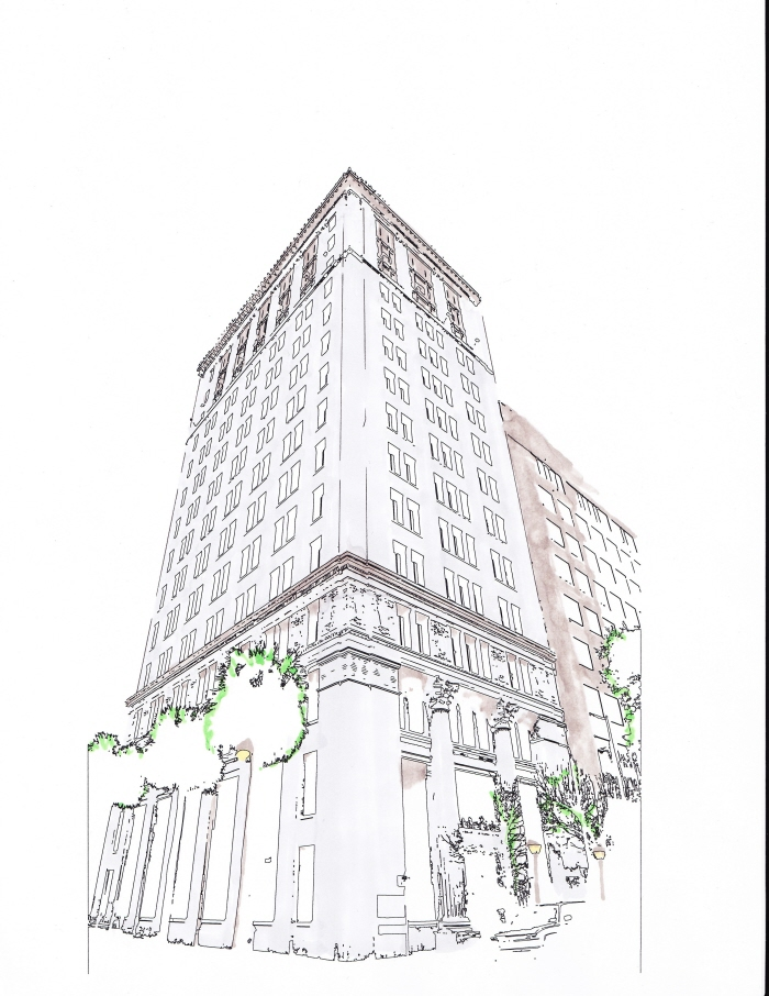 Architectural by damian balcom at for Full size architectural drawings