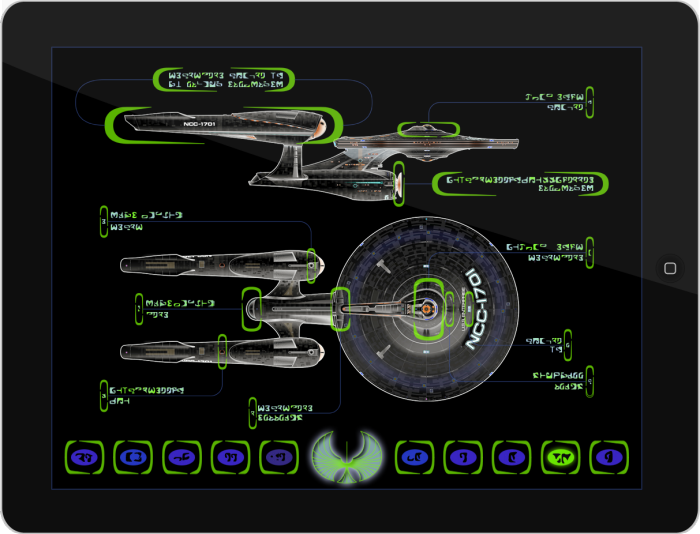 Ipad star trek rts game interface by s flavio espinoza at - Lcars ipad app ...