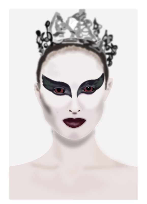 black swan illustration. MeLikey