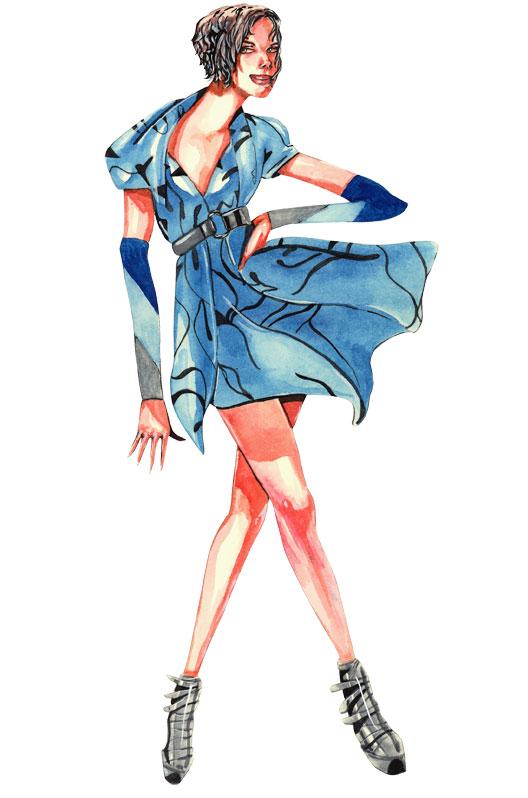 fashion figures by gabriel ayala at coroflotcom