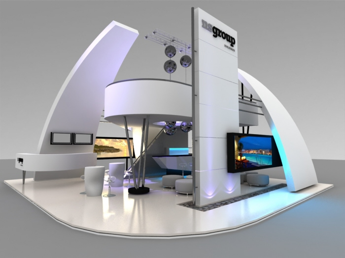 Modern Exhibition Stand By Me : Exhibit design medium by julieta iele at coroflot