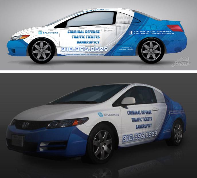 Vehicle Wrap Design By Alejandro Flores At Coroflot Com