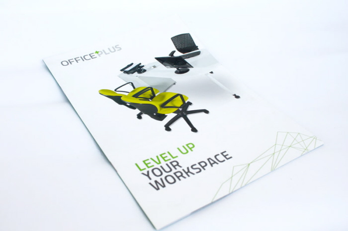 Office Plus Brochure by Albert Pew at Coroflot.com