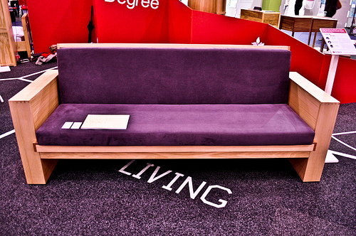 Sofa Bed for Salvation Army by Roslyn Campbell at Coroflot