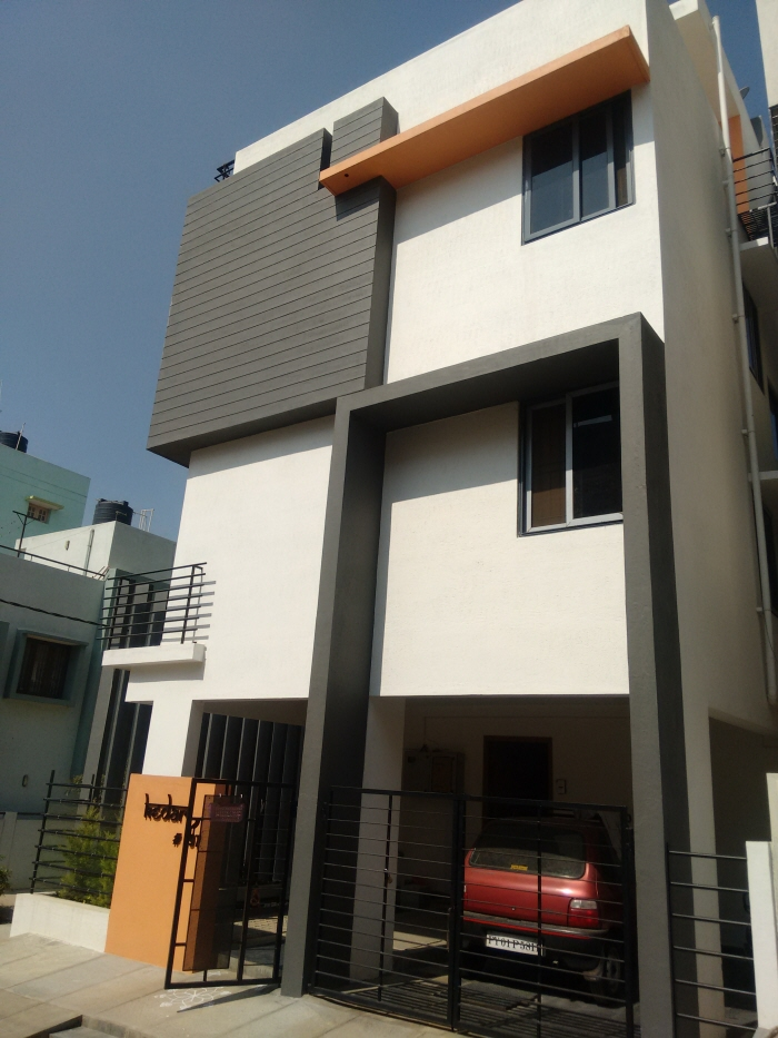 3bhk house architects in bangalore by ashwin architects for Home architecture bangalore