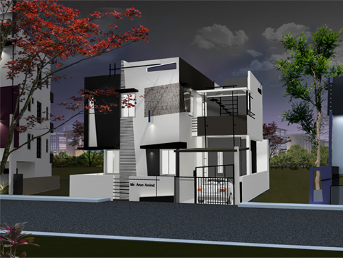 luxury house plans villas in bangalore by ashwin