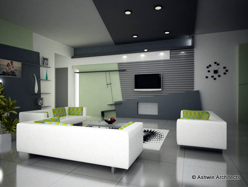 Madhus 5 BHK Apartment Interior Design In Bangalore By Ashwin