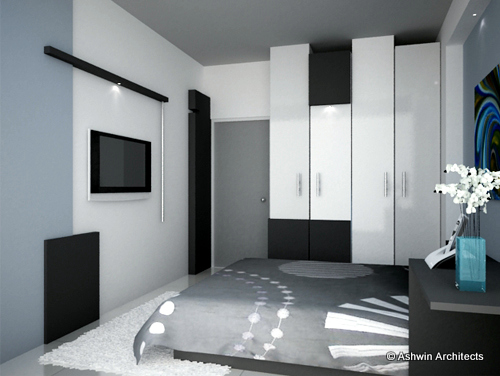 Madhu 39 s 5 bhk apartment interior design in bangalore by for 3 bedroom flat interior designs