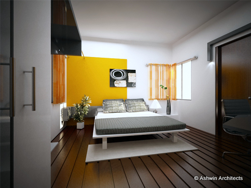 4 bhk interior design jyothi s apartment bangalore by for 3 bhk flat interior designs