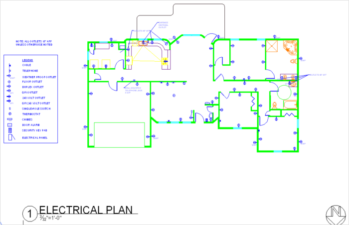 autocad drawings by tiffany gagne at coroflot.com electrical plan in the philippines electrical plan residential #15
