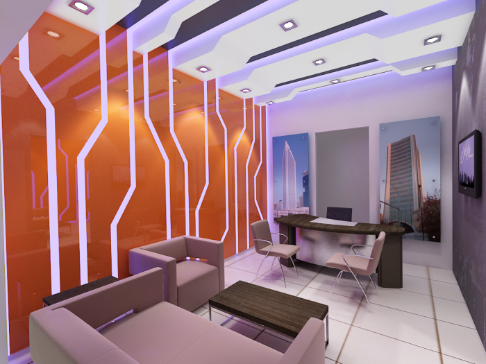Real estate office by mouaz ismail at for Real estate office decor