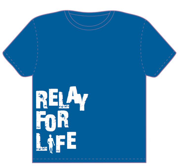 Freelance work by kelsey gomez at for Relay for life t shirt designs