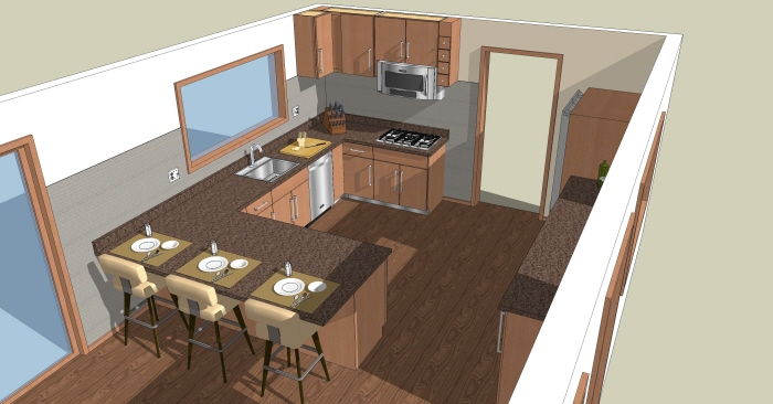 Kitchen and bath design by krista lackey at Kitchen design software google sketchup