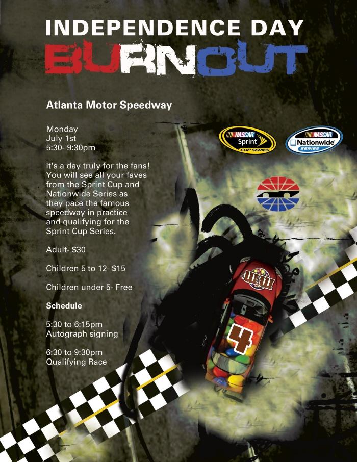 Atlanta Motor Speedway Event By Eugene Battle At