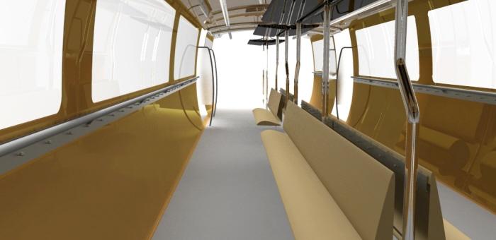 Mumbai Metro Interior Design Concept by Advaith Srivathsa at
