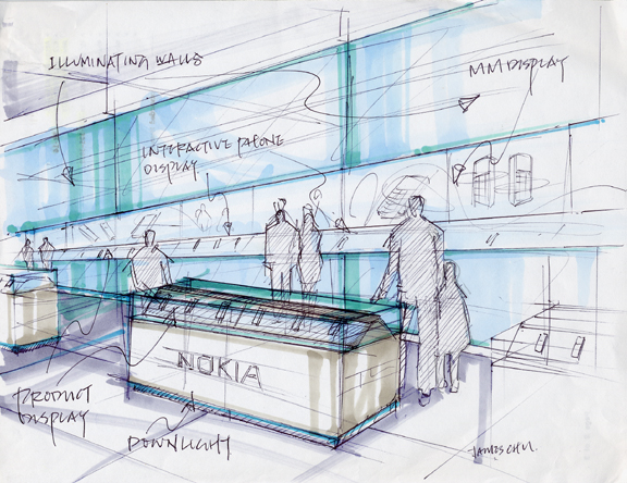 Environmental Retail Brand Experience Design By James Chu