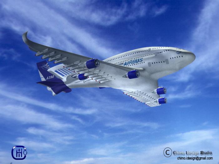AIRBUS A390 SHARK By Joakin Sales At Coroflotcom