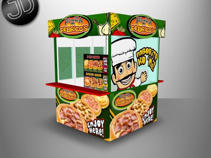3d pizza takeout - 3 part 3