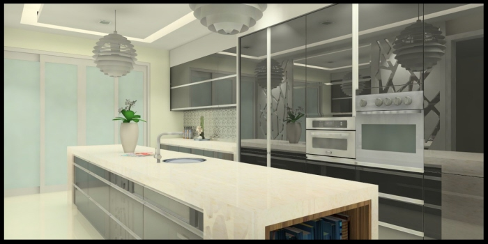 wet and dry kitchen design. Island Kitchen Cabinet Dry And Wet Miss Karen by Made In Design Studio at