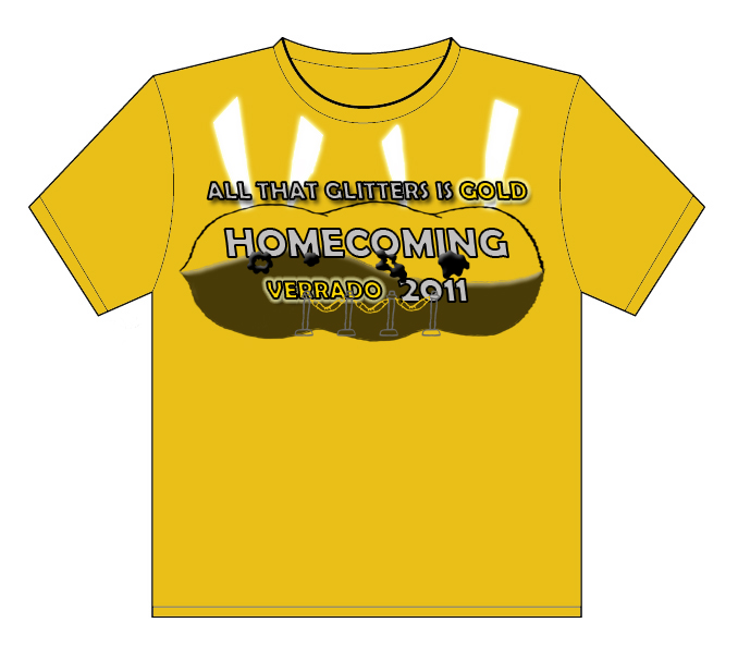 homecoming t shirt design by tyler guerra at