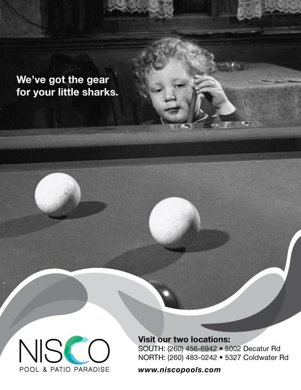 NISCO Magazine #2   Set Of Magazine Ads And Billboards For The Fictional  Redesign Of A Local Pool And Patio Store. I Wrote The Taglines And Used The  Logo ...