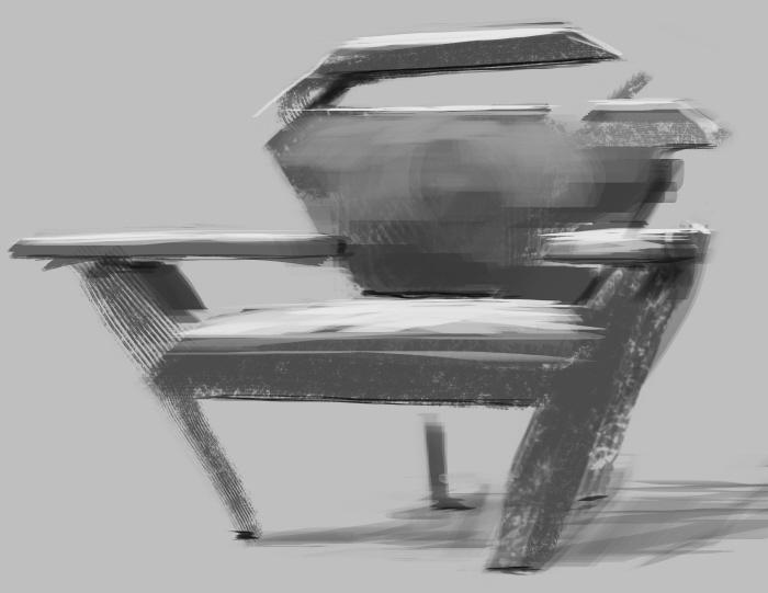 Concept Art Furniture by Thomas Frobish at Coroflot