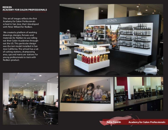 Redken academy for salon professionals by julia swain at for Academy for salon professional