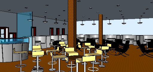 Sketchup and revit renderings by lauren vancamp at