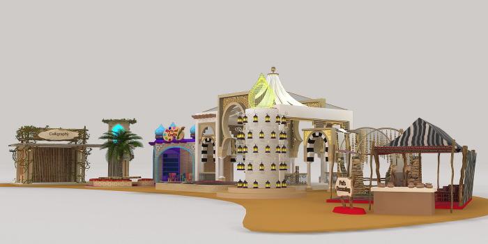 Abu Dhabi Ramadan Decor 2013 By Jonas Paz At