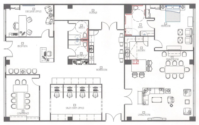 autocad drawing pdf for residential building in monteral