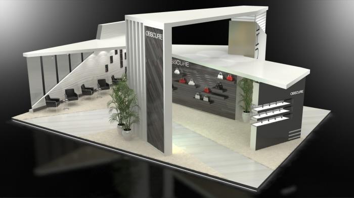 Modern Exhibition Stand Alone : Custom design by jeff vavrek at coroflot