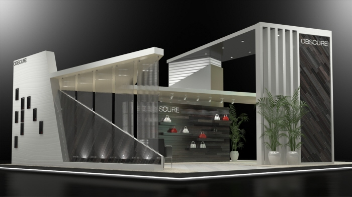 Exhibition Stand Vray : Custom design by jeff vavrek at coroflot