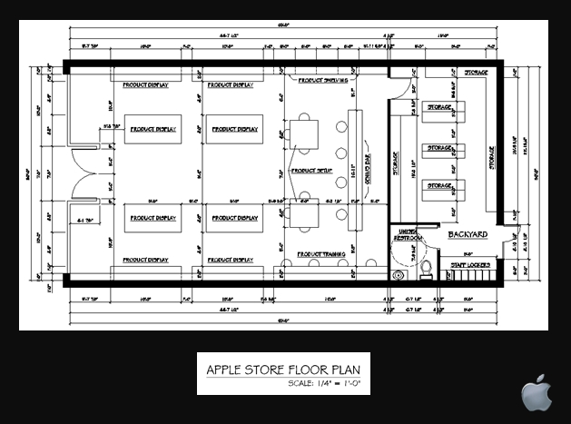 Apple store by jessica jankoviak at Floor plan mac