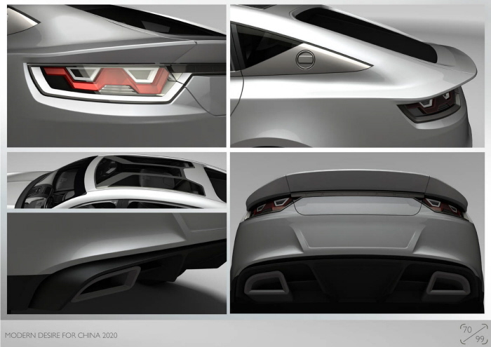 从调研 到提案 到油腻 到建模 到渲染,汽车设计超完成