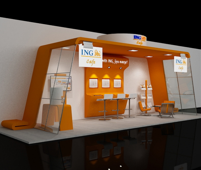 Stall Exhibition Event : Stage event exhibition stall by krunal suthar at