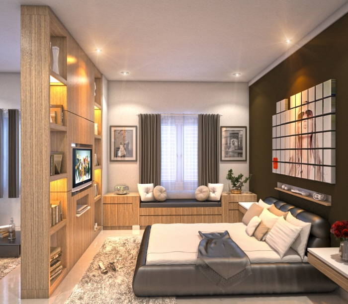 3d Interior By Syah Johan At