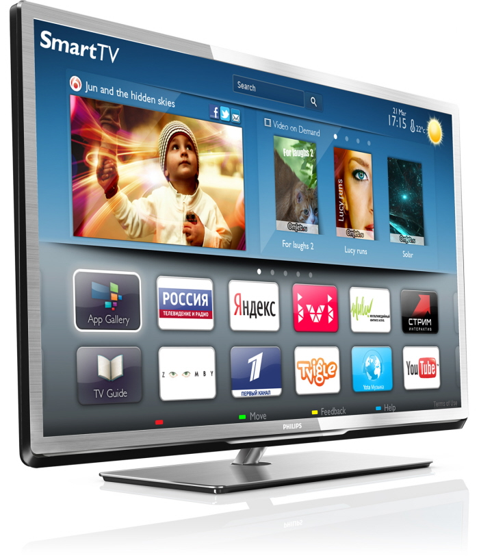 Led Smart Tv : Philips Smart LED TV 5000/5500 Series 2012 by Murphy Tan at Coroflot ...