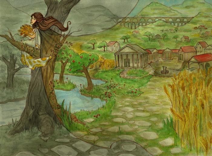 greek goddesses thesis